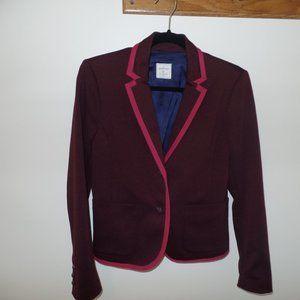 Plum and pink GAP Academy Blazer